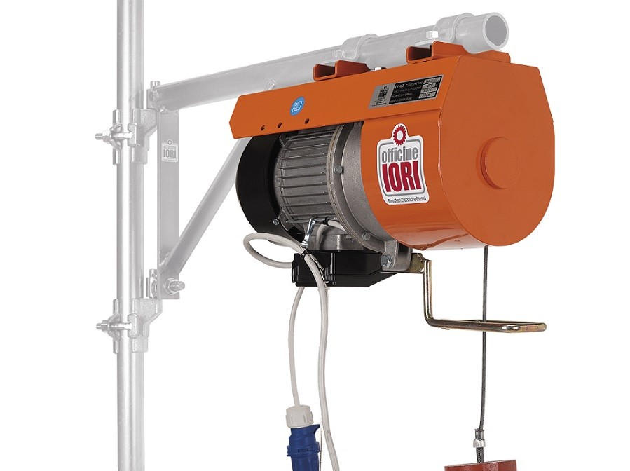 Iori for Argano elettrico 220v con telecomando