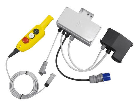 Comando remoto bassa tensione for Telecomando montacarichi